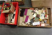 Sale 8169 - Lot 2231 - 2 Boxes of Sundries incl. Ephemeras, Magic, Etc