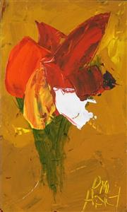 Sale 8565 - Lot 589 - Kevin Charles (Pro) Hart (1928 - 2006) - Orchid, c1980s 14.5 x 8cm