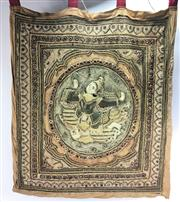 Sale 8645D - Lot 12 - Antique Tapestry Wall Hanging (760 x 670cm)