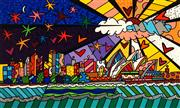 Sale 8665 - Lot 536 - Romero Britto (1963 - ) - Good Morning Australia, 2014 45.5 x 76cm