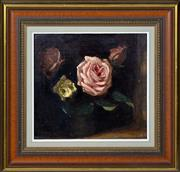 Sale 8394 - Lot 535 - Ethel Carrick Fox (1872 - 1952) - Roses 25 x 26cm
