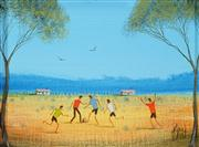 Sale 8549 - Lot 599 - Kym Hart (1965 - ) - World Game 11.5 x 16.5cm