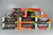 Sale 8271 - Lot 66 - CLASSIC CARLECTABLE 1:43 SCALE MODELS(8) HOLDEN VE COMMODORE 2007 HRT TODD KELLY #22, HOLDEN VZ COMMODORE 2006 SUPERCHEAP AUTO GREG...