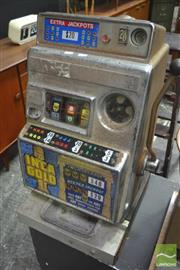 Sale 8326 - Lot 1068 - Early Inca Gold Gaming Machine