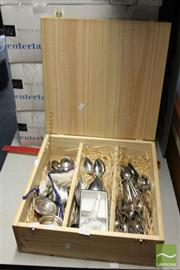 Sale 8478 - Lot 2234 - Collection of Cutlery incl Gero & Grosvenor