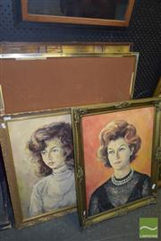Sale 8509 - Lot 2056 - Group of (5) Assorted Artworks by Various Artists