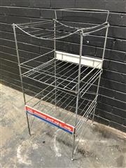 Sale 9039 - Lot 1006 - Tip Top Bread Display Stand (h:97 x w:50 x d:48cm)