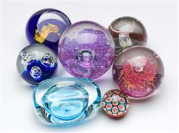 Sale 9164 - Lot 137 - A collection of paperweights inc Sydney 2000 (7)