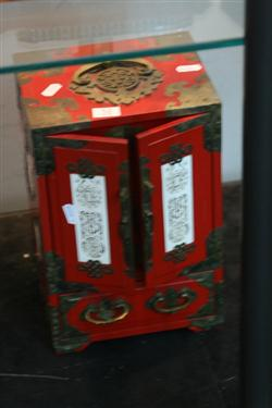Sale 7914 - Lot 54 - Chinese Jewellery Cabinet