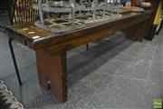 Sale 8338 - Lot 1173 - Timber Bench