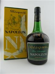 Sale 8385 - Lot 609 - 1x Bisquit Napoleon Cognac - old bottling in box