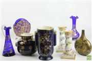 Sale 8494 - Lot 70 - Crown Devon Ceramic Vases Together with other Ceramic and Glassware