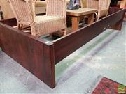 Sale 8554 - Lot 1086 - Rosewood Bed