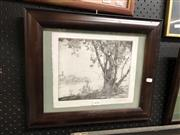 Sale 8779 - Lot 2078 - Douglas Pratt - Etching - Signed