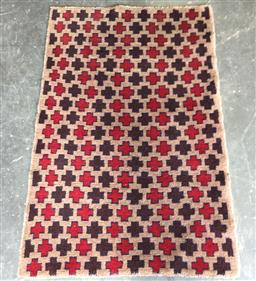 Sale 9146 - Lot 1066 - Hand knotted pure wool Persian baluchi ( 150 x 80cm)