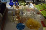 Sale 8530 - Lot 2178 - Collection of Glassware incl Czechoslovakian Candlestick