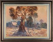 Sale 8845 - Lot 2002 - James Wynne (1944 - ) - Dusk in Autumn 45 x 60cm