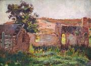 Sale 8901 - Lot 567 - Alice Marian Ellen Bale (1875 - 1955) - A Relic - Chewton (on the Road to Golden Point) 21.5 x 29.5 cm