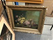 Sale 8903 - Lot 2059 - Artist Unknown - Wild Roses, oil on canvas