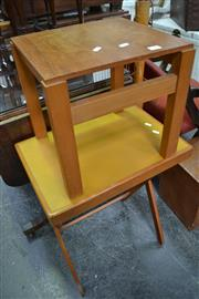 Sale 8013 - Lot 1138 - Table and Stool