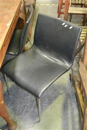 Sale 8066 - Lot 1051 - Set of 4 Leather Dining Chairs