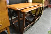 Sale 8409 - Lot 1009A - Nest of Three G-Plan Coffee Tables