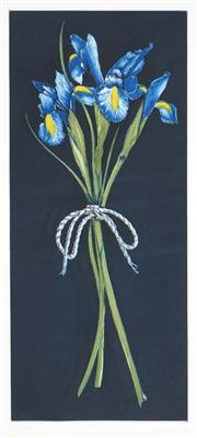 Sale 8475 - Lot 573 - Peter Hickey (1943 - ) - Iris, 1993 58 x 25cm