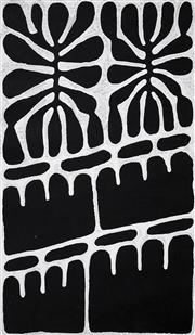 Sale 8467 - Lot 511 - Mitjili Naparrula (c1945 - ) - Watiya Tjuta (The Trees) 101cm x 60.5cm