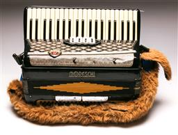 Sale 9136 - Lot 96 - A Moreschi accordion, untested some wear
