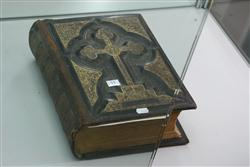 Sale 7914 - Lot 11 - Victorian Embossed Leather Bible