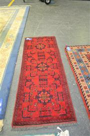 Sale 7987A - Lot 1200 - Afghan Hand Knotted Carpet (150 x 50cm)