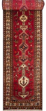 Sale 8323C - Lot 53 - Persian Abada 435cm x 98cm RRP $2000