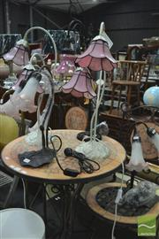 Sale 8326 - Lot 1491 - Collection of 6 Table Lamps