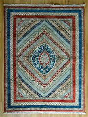 Sale 8700C - Lot 46 - Afghan Super Kazak 200cm x 153cm