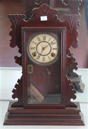 Sale 7950 - Lot 7 - Sessions Clock ( key and pendulum in office)