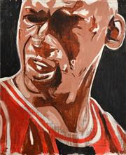 Sale 8257A - Lot 72 - INDO (1982 - ) - Michael Jordan 59 x 71cm