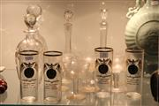 Sale 8340 - Lot 70 - Stuart Decanter with Other Glass incl Lunar Landing Beakers