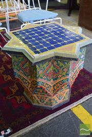 Sale 8532 - Lot 1266 - Tile Top Occasional Table