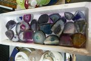 Sale 8362 - Lot 2522 - Tray Mixed Agate Polished Pieces