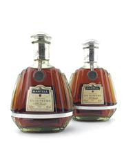 Sale 8571 - Lot 758 - 2x Martell XO Supreme Cognac - 375ml, old bottling