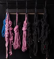 Sale 8761A - Lot 51 - A quantity of ropes in Jaunty colours