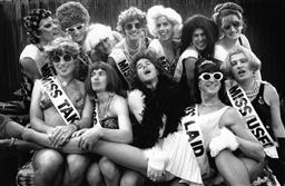 Sale 9082A - Lot 5003 - The Beauty Queens, Sydney Gay and Lesbian Mardi Gras Parade (1993), 29 x 19 cm, silver gelatin, Photographer: Andrew Taylor