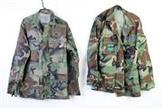 Sale 8952M - Lot 680 - Mostly US Camouflage Collared Shirts Incl Air Force