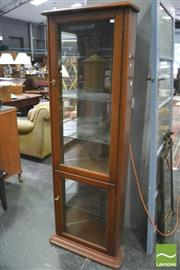 Sale 8392 - Lot 1051 - Timber Corner Cabinet