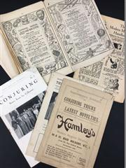 Sale 8539M - Lot 169 - 5 Vols., including early Hamleys catalogs (2),Conjuring: Scarce Items for Collectors no. 2 & The Magic Circular January 1950 (vol....