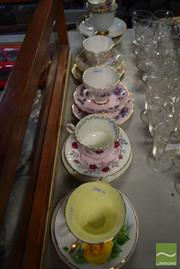 Sale 8530 - Lot 2222 - Collection of Cups & Saucers incl Trios