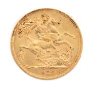 Sale 8855H - Lot 74 - 1925 gold sovereign weight approx 7.95g, M above 1925