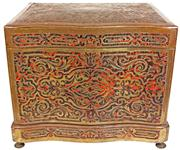 Sale 7974 - Lot 76 - French Boule 19th Century Drinks Box