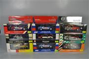 Sale 8271 - Lot 67 - CLASSIC CARLECTABLE 1:43 SCALE MODELS(9) HOLDEN VE COMMODORE 2008 JACK DANIELS RACING TODD KELLY #7, HOLDEN VE COMMODORE 2008 SPRINT...