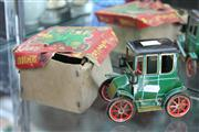 Sale 8276 - Lot 35 - Vintage Old Timers Lever Action Tin Car with Original Box